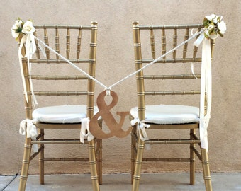Ampersand Chair Decor