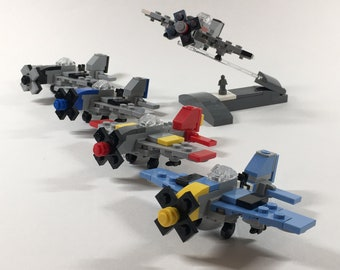 Micro Warbirds - P-51D Mustang - Wave 1 Set