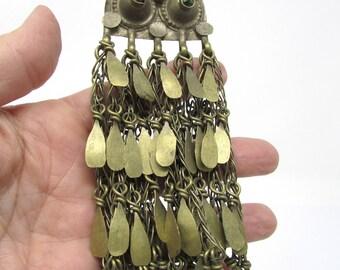 Long Kuchi Tribal Pendant with Hook