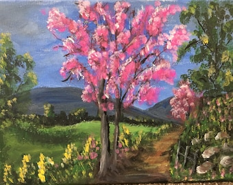 Country side landscape painitng