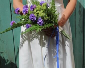 Lilac Meadow Brides Bouquet