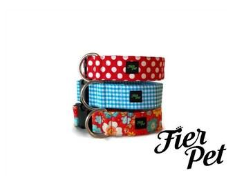 dog collar , custom collar ,summers 74 ,design in canada ,Designer dog collar, choose your fabric, collar,adjustable collar,fier-pet