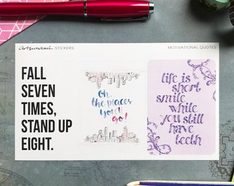 Big Quotes 04 Artsunami Planner Journaling Scrap-booking Stickers