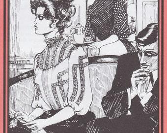 FW205 - Folkwear #205, Early 1900's Gibson Girl Blouse Sewing Pattern