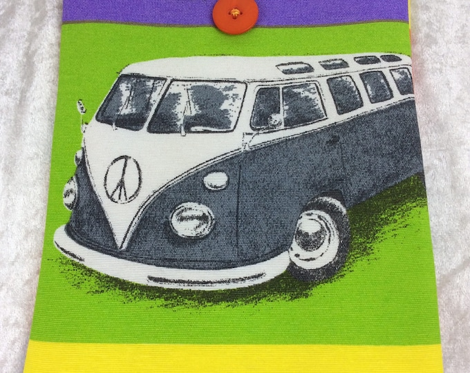 Handmade Tablet Case Cover Pouch iPad/Kindle MEDIUM VW Campers