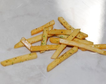 French Fries or Chips - Faux Real Food For American Girl Dolls.