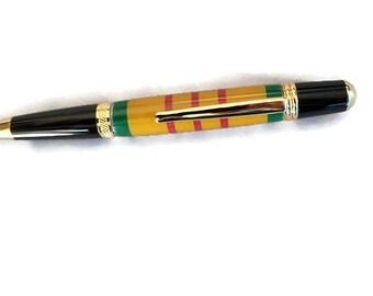 Vietnam Service Ribbon Sierra Style Pen