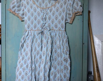 Paisley Baby Doll Dress