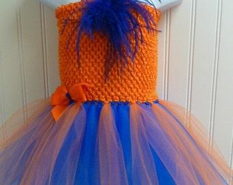 Team Colors Tutu Dress