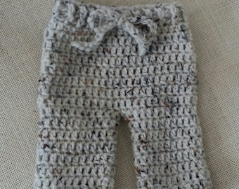 CROCHET PATTERN  - Digital Download Newborn Pants -  Great Photography Prop pattern - Longies