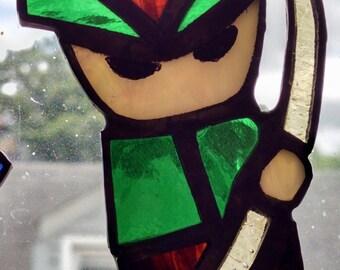 Itty Bitty Archer Stained Glass Suncatcher