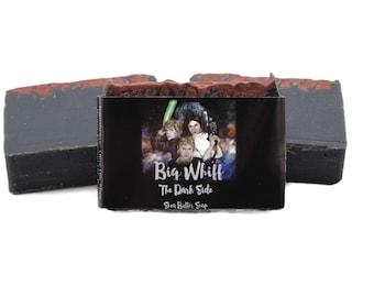 Dark Side - Star Wars Inspired Soap, Shea Butter Soap, Bar Soap, Handmade Soap, Artisan Soap, Vegan Soap, Cold Process Soap, Soaps