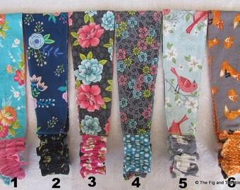 Fabric Headband Women Teens Girls Reversible Hairband - Florals, Foxes, Unicorns, ...Pick one