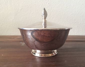 1950s Paul Revere Reproduction Sugar Bowl with Lid