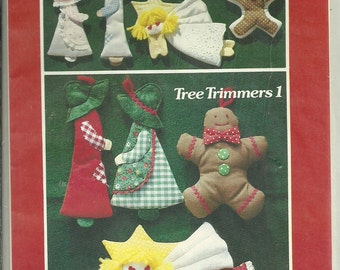 Quilting Patterns, Christmas Ornaments, Patchwork Patterns, Christmas Decor, Tree Trimmers 1 1980