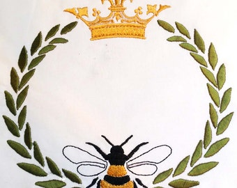 ROYAL JELLY large frame  Machine embroidery Design