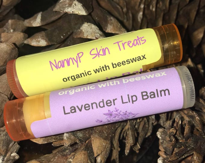 Healing Moisturizing Flavored Lip Balm With Vitamin E - CERTIFIED AROMATHERAPIST
