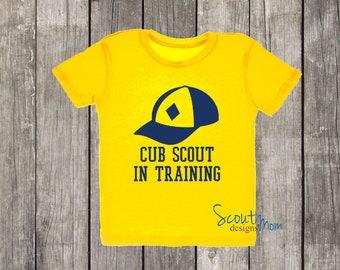 Cub Scout in Training   Baby Toddler Preschooler Shirt