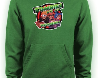 Zombies Ate My Neighbours Retro Gamers Hoodie