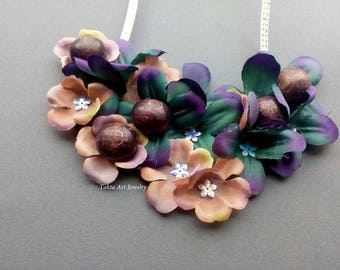 Necklace handmade, unusual, gift for women's day