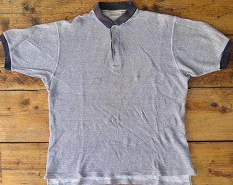 Fila fine print polo shirt