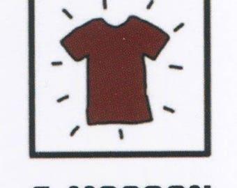 Dye fabrics No.6 Brown Design