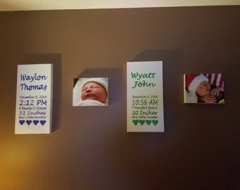 Multiple Birth Canvas Order
