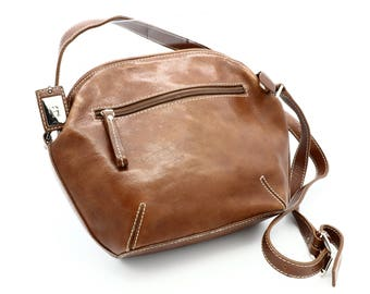 Genuine Brown Leather Purse