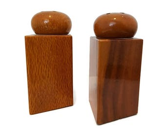 Salt and Pepper Shakers from Hawaii Vintage 1980's