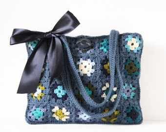 Crochet shoulderbag Brinn