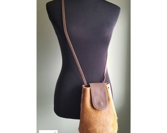 Pouch Style Leather Bag