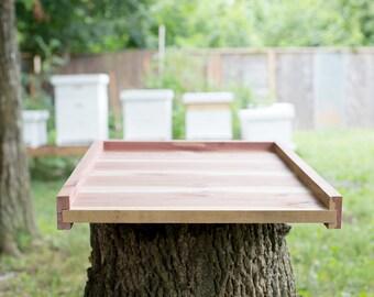 Langstroth Cedar Bottom Board for 10 Frame Bee Hive Box