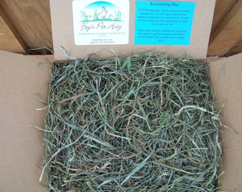 3 lb - 3rd Cutting HAY! SUPREME Timothy/Orchard Grass/Clover mix HAY for Rabbits, Guinea Pigs, Chinchillas, Gerbils, Hamsters, Tortoise!!