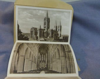 1920 Fold Out Postcards, Truro England, Pictorial Letter Card, F. Frith & Co. Reigate (Francis Frith) Unused