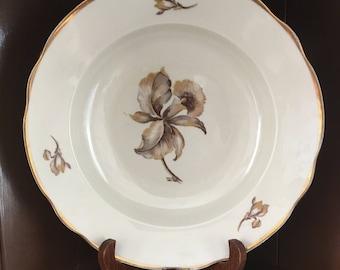 KPM, KOBERHAVNS PORCELAENS Maleri,4  Vintage Copenhagen Porcelain Soup Bowls