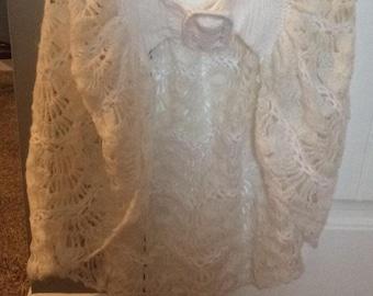nasharr freres vintage shawl