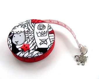 Tape Measure with Wool Sheep Measuring Tape