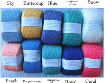 Gossamer Fine Wool ~ limited stocks