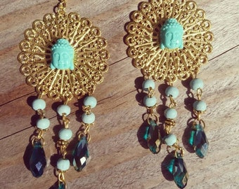 Chic buddha earrings
