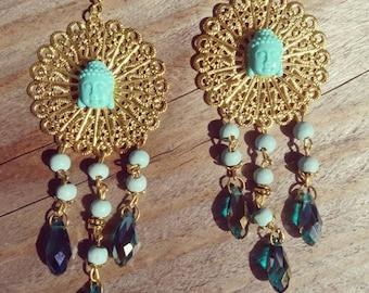 Chic buddha earrings