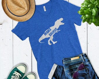 Cute Mamasaurus Shirt - Dinosaur Mom Shirt - New Mom Shirt - Baby Reveal Shirt - Mom Gift - Gift For Wife Funny Mom Shirt