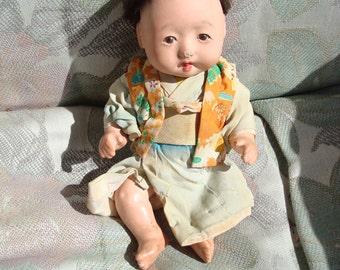Asian Baby Doll in Kimono