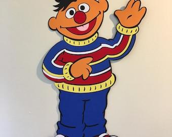 2ft Ernie Sesame Street Party Decoration, Sesame Street, Bert and Ernie, Sesame Street Party, Theme Party, Party Decoration