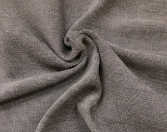 Gray 100% Polyester Fire Resistant Velvet Fabric for Commercial/Home Upholstery Curtain Drapery FR Material Sold by The Yard 54 inch wide