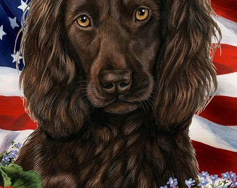 Boykin Spaniel House Flags