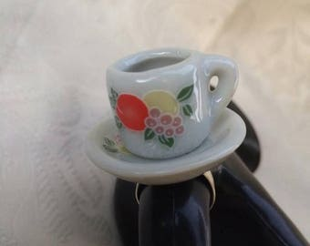 Tea Cup Ring.