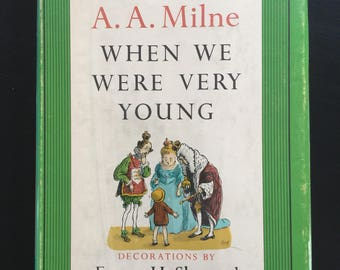 Vintage Edition of When We Were Very Young by A.A. Milne