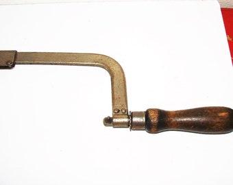 Old Hacksaw Hibbard, Spencer, & Bartlett  Hacksaw Great Display or Working Hacksaw For Craft Room