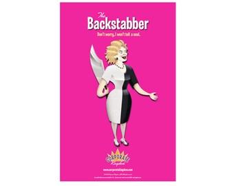 Backstabber Poster by Corporate Kingdom®