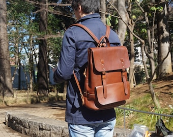 Backpack L [Brown]